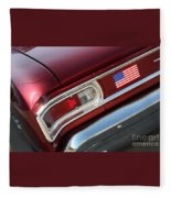 67 Malibu Chevelle Tail Light-0060 Fleece Blanket