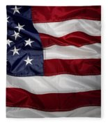 American Flag 52 Fleece Blanket