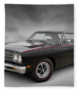 '69 Roadrunner Fleece Blanket