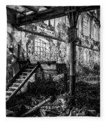 Abandoned Sugar Mill Fleece Blanket