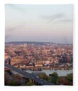 Belgrade, Serbia Fleece Blanket