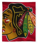 Chicago Blackhawks Uniform Fleece Blanket