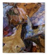 Colors Of The Fall Fleece Blanket