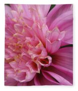 Dahlia Named Siemen Doorenbosch Fleece Blanket
