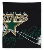 Dallas Stars Fleece Blanket