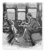 Doyle: Sherlock Holmes Fleece Blanket