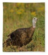 Eastern Wild Turkey Fleece Blanket