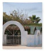 El Farafar Oasis Fleece Blanket