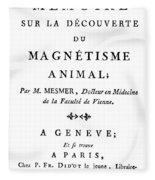 Franz Mesmer (1734-1815) Fleece Blanket