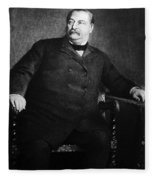 Grover Cleveland (1837-1908) Fleece Blanket
