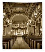 Holy Cross Catholic Church Fleece Blanket