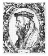 John Calvin (1509-1564) Fleece Blanket