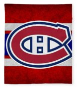 Montreal Canadiens Fleece Blanket