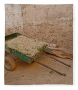 Mud Brick Village Fleece Blanket