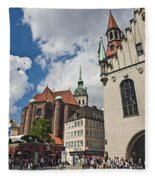 Munich Germany Fleece Blanket