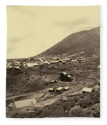 Nevada Virginia City Fleece Blanket