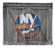 New York Islanders Fleece Blanket