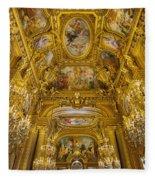 Palais Garnier Interior Fleece Blanket