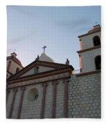 Santa Barbara Mission Fleece Blanket