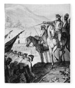 Saratoga: Surrender, 1777 Fleece Blanket
