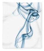 Smoke Curve Fleece Blanket