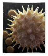 Sunflower Pollen Fleece Blanket