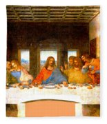 The Last Supper  Fleece Blanket