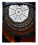 The Vatican Stairs Fleece Blanket