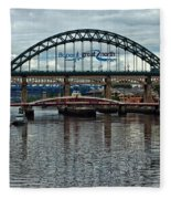 Tyne Bridge Fleece Blanket