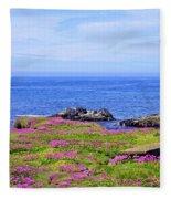 Yachats Oregon Fleece Blanket