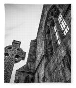 700 Years Of Irish History At Quin Abbey Fleece Blanket