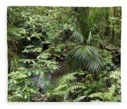 Jungle 5 Fleece Blanket