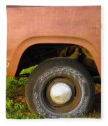 78 Dodge Power Wagon  Fleece Blanket