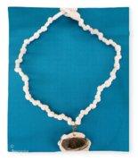 Aphrodite Anadyomene  Necklace Fleece Blanket