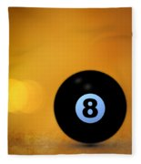 8 Ball Fleece Blanket