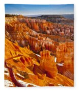 Bryce Canyon  Fleece Blanket