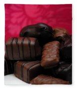 Chocolate Candies Fleece Blanket