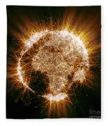 Earths Energy Fleece Blanket