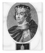 Edward I (1239-1307) Fleece Blanket
