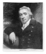 Edward Jenner (1749-1823) Fleece Blanket