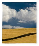Farm Field Fleece Blanket