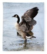 Goose  Fleece Blanket