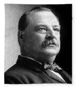Grover Cleveland (1837-1908) Fleece Blanket