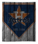 Houston Astros Fleece Blanket