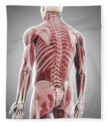 Human Muscles Fleece Blanket