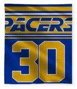 Indiana Pacers Uniform Fleece Blanket
