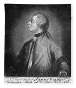 James Wolfe (1727-1759) Fleece Blanket