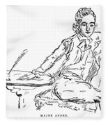John Andre (1751-1780) Fleece Blanket