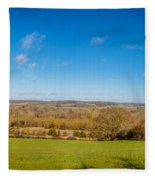 Kennet And Avon Canal Fleece Blanket