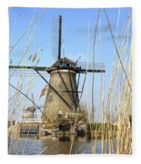 Kinderdijk Fleece Blanket